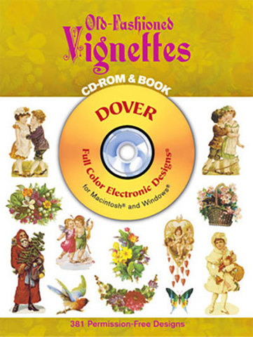 9780486996226 - Old-Fashioned Vignettes CD-ROM and Book