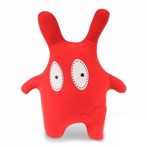 Подушка-игрушка антистресс Gekoko «Монстрик красный»