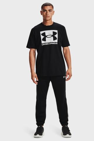 Мужская черная футболка UA ABC CAMO BOXED LOGO SS Under Armour