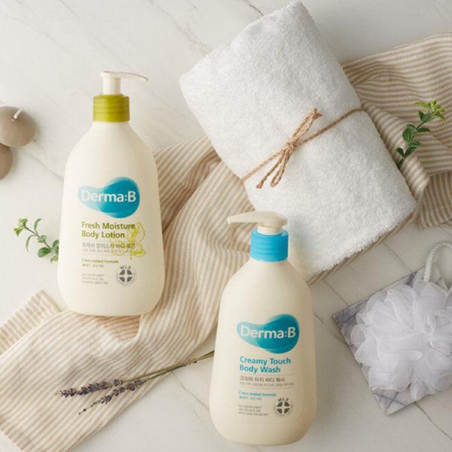 Крем-гель для душа Derma B Creamy Touch Body Wash 400 мл