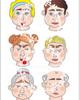 Собери лицо. Эмоции. Развивающие пособия на липучках Frenchoponcho (Френчопончо)
