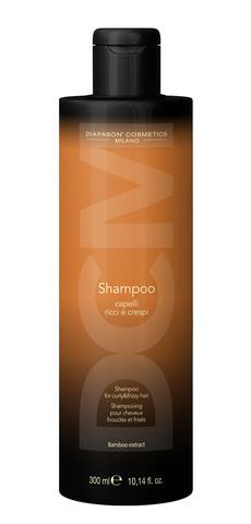 DCM Шампунь для вьющихся и кудрявых волос с экстрактом бамбука 300 мл