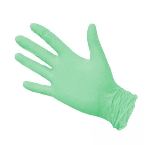 Перчатки нитрил MDC (TN327L) L-size зеленого цвета 100 пар/уп