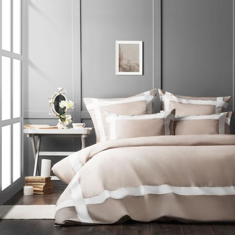 Комплект постельного белья сатин Империал серый