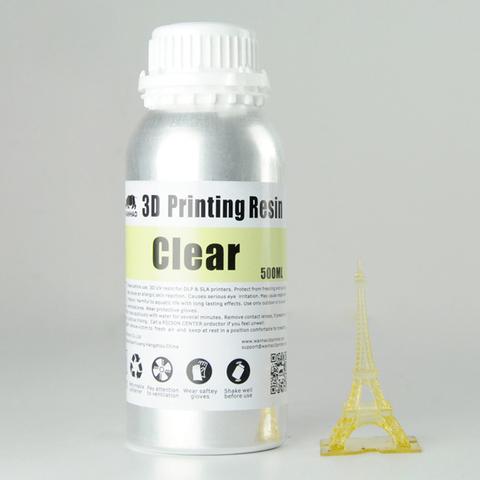 Фотополимер Wanhao Standard Resin, натуральный (500 мл)