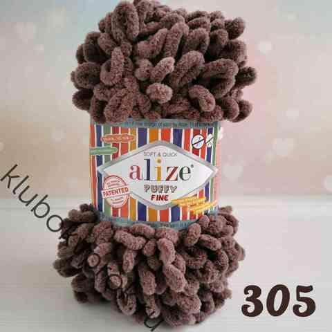 ALIZE PUFFY FINE 305, Кофе