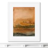 Marina Sturm - Репродукция картины в раме Landscape, August evening