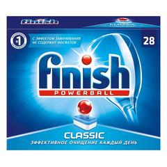 Таблетки для посудомоечных машин Finish Classic (28 штук в упаковке)