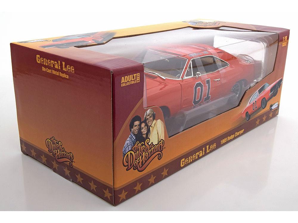 Коллекционная модель Dodge Charger General Lee 1969 From Movie «The Dukes Of Hazzard»