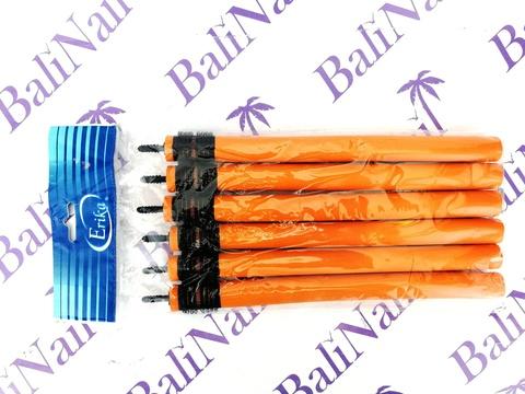 Папильотки с липучкой, для более надежного закрепления пряди, (6шт/уп) 16*210 мм