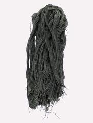 Джут крашенный - серый, 400 грамм