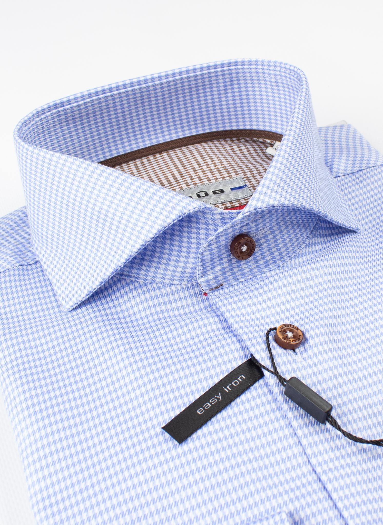 Рубашка Ledub slim fit 0137226-130-640-650