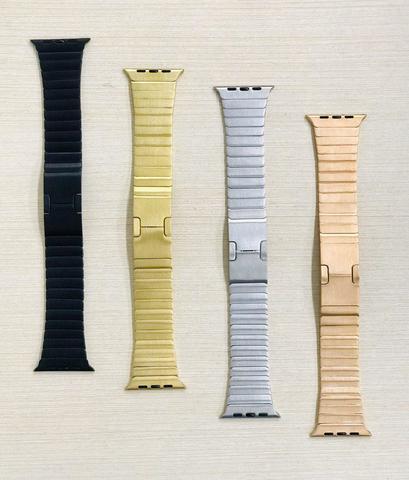Ремешок Apple watch 42/44mm Link Bracelet /gold/rose gold/