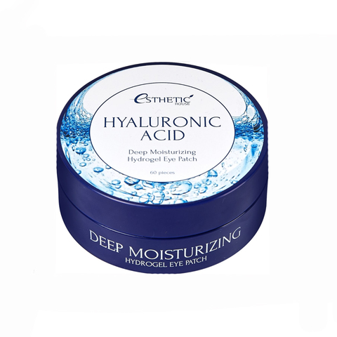 [ESTHETIC HOUSE] Гидрогелевые патчи для глаз ГИАЛУРОН Hyaluronic Acid Hydrogel Eye Patch, 60 шт