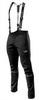 Утеплённый лыжный костюм 905 Victory Code Speed Up Black 2021 с лямками мужской