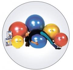 Мяч Body ball для занятий лечебной физкультурой с антиразрывной системой-BRQ