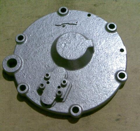 12609 Крышка задняя вакуумного насоса SACCO 600-1000-1600