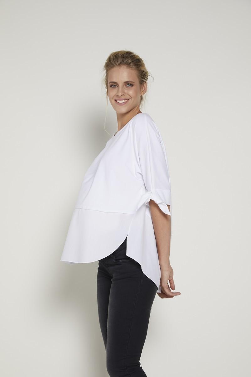 Блузка для беременных 09365 белый