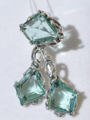 Либерти (кольцо + серьги из серебра)