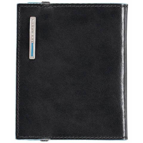 Чехол для кредитных карт Piquadro Blue Square (PP1395B2/N) черный кожа