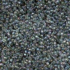 0176 Бисер японский TOHO 11/0, радужный, черный алмаз