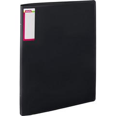 Папка на 4-х кольцах Attache А3 32 мм черная до 250 листов (пластик 0.7 мм)