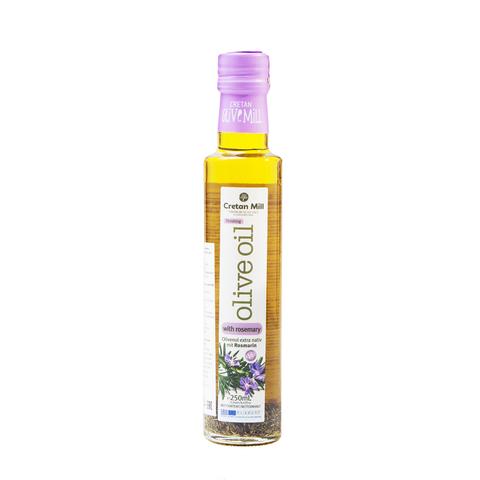 Оливковое масло с розмарином Cretan Mill 250 мл