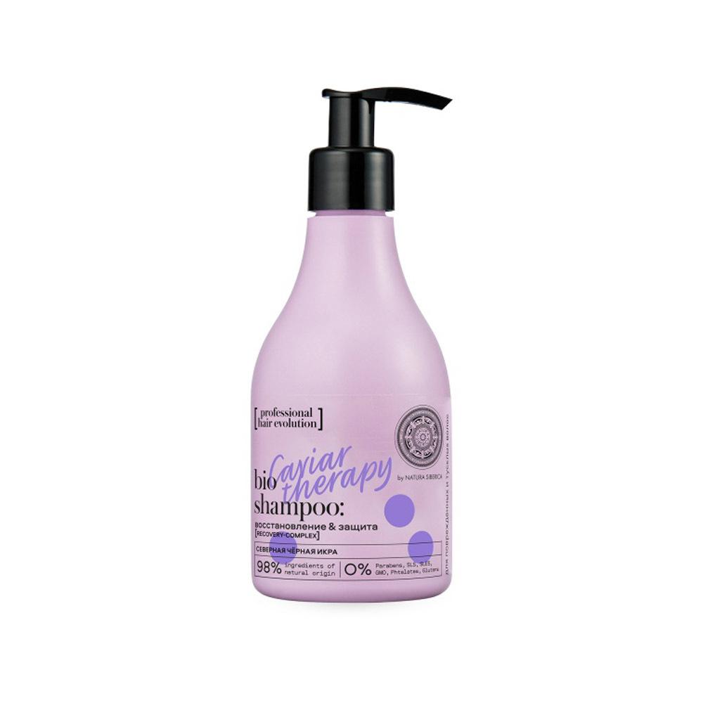 Шампунь для поврежденных тусклых волос Caviar Therapy восстановление  и защита Hair Evolution