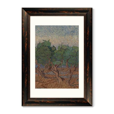 Винсент Ван Гог - Диптих Olive Grove, 1889г. (из 2-х картин)
