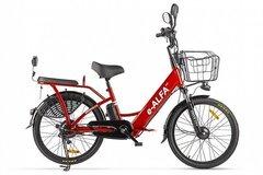 Электровелосипед Green City E-Alfa Fat (2020) Красный