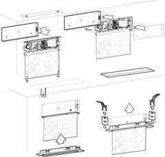 Схема монтажа для ONTEC G E1B 301 M ST