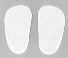 Подошва для изготовления обуви толщиной 4 мм, 4*7см, 1 пара.