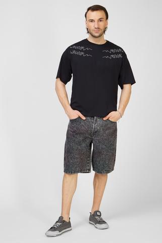 Мужские темно-серые джинсовые шорты D-MAXS-SP Diesel