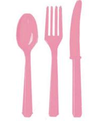 Столовые приборы пласт Pink 24шт.