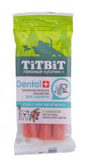 Лакомство для щенков средних пород TitBit DENTAL, Снек с мясом ягненка