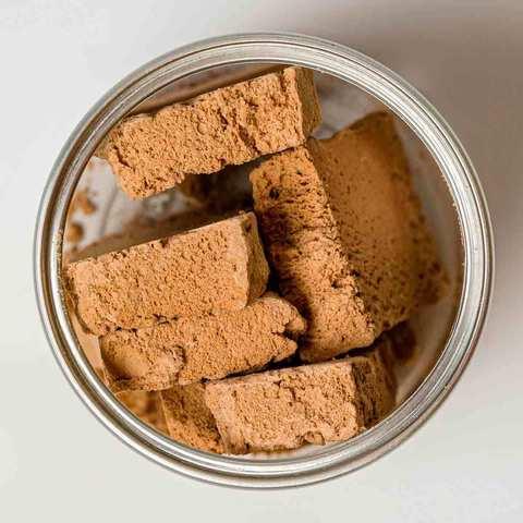 Сублимированное мороженое Шоколадное 'Тройная точка', 30г