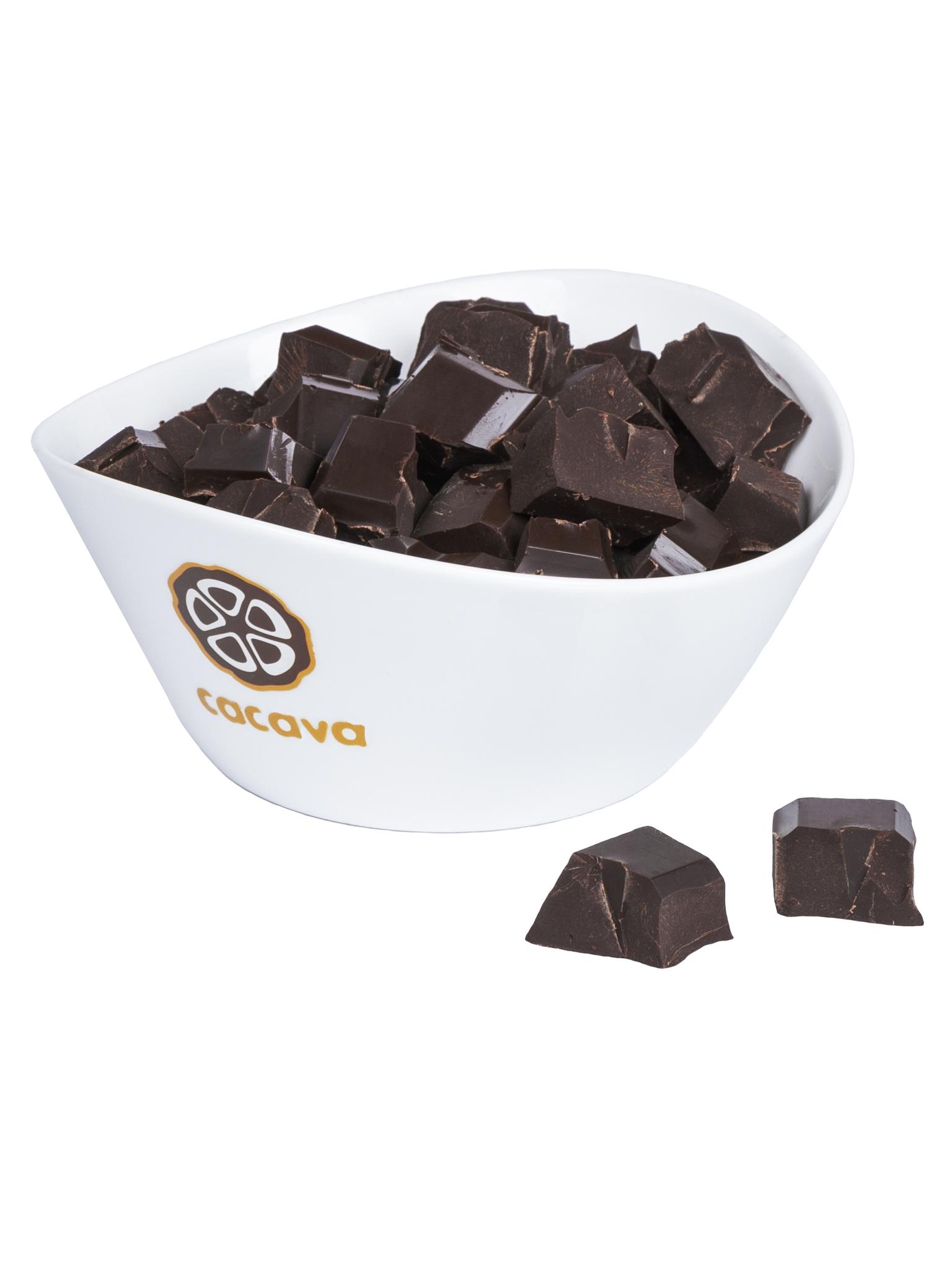 Тёмный шоколад 70 % какао (Перу, Amazonas), внешний вид