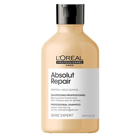 L'Oreal Professionnel Absolut Repair: Шампунь для поврежденных волос (Absolut Repair Shampoo), 300мл/1. 5л
