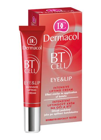 Dermacol BT Cell Интенсивный крем-лифтинг для век и губ (30+), 15мл