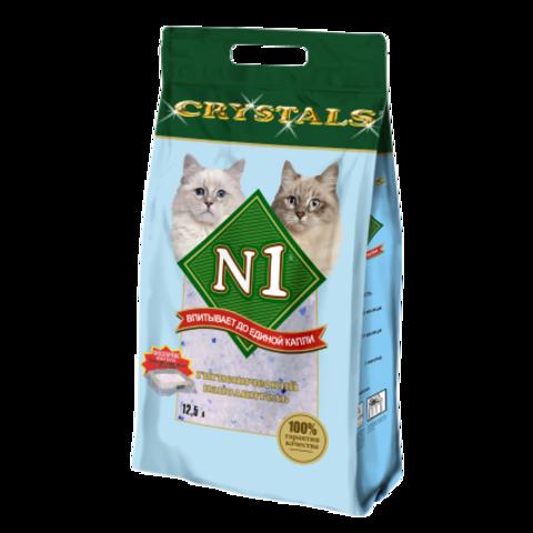 Барсик наполнитель 12,5 л №1 Crystals Силикагелевый