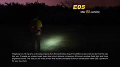 Карманный фонарик Fenix E05 Сиреневый