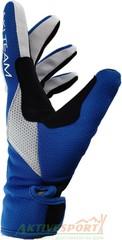 Перчатки лыжные утепленные Ski Team K19002WBR бело-сине-красный - 2
