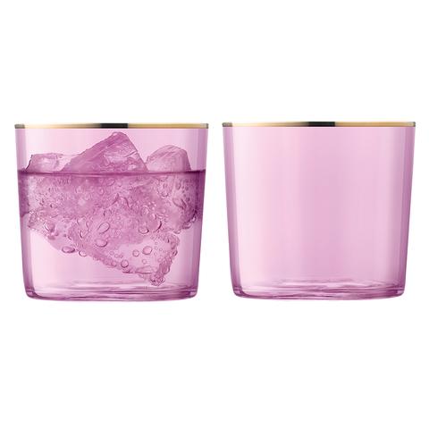 Набор из 2 стаканов Sorbet, 310 мл, розовый