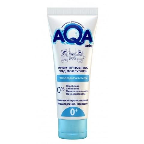 AQA baby. Защитный крем-присыпка под подгузник для малыша, 75 мл