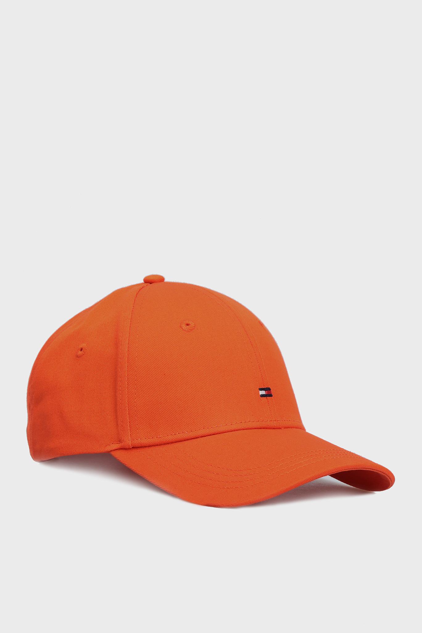 Женская оранжевая кепка BB Tommy Hilfiger