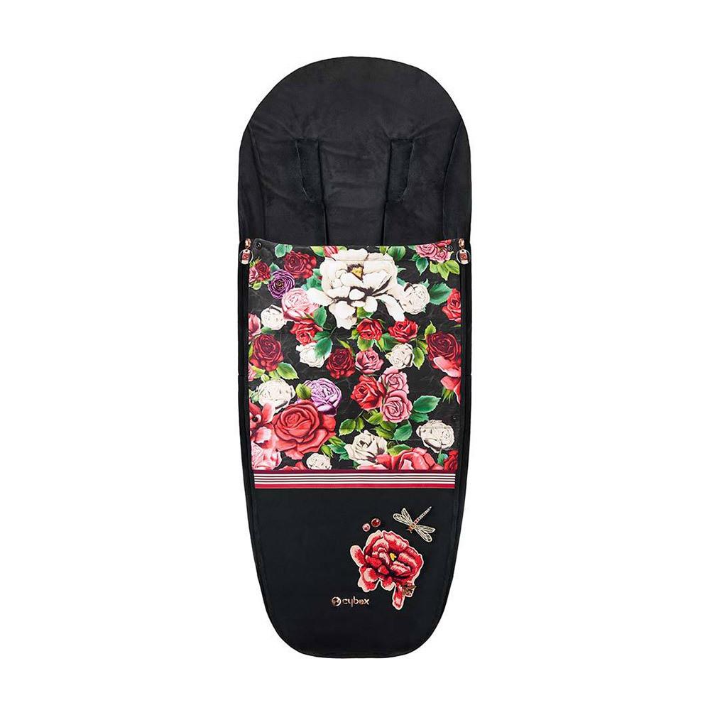 Теплые конверты для коляски Cybex Теплый конверт в коляску Cybex Priam Footmuff Spring Blossom Dark Cybex-Footmuff---Spring-Blossom-Dark.jpg