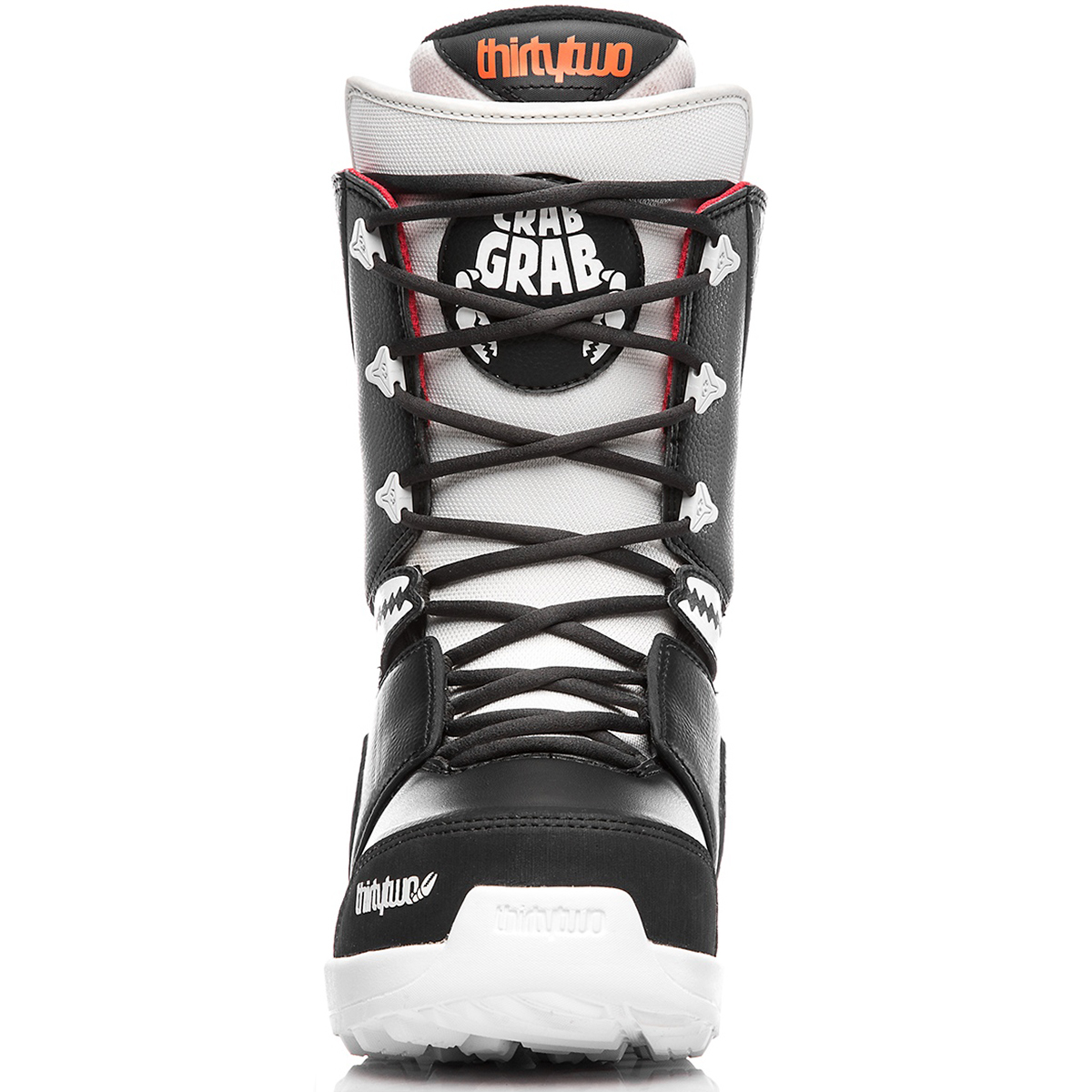 Ботинки для сноуборда ThirtyTwo  Lashed Crab Grab '18 black raw
