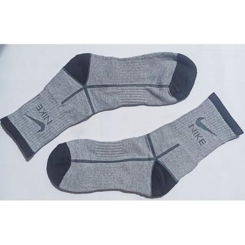 Мужские носки серые с черным Nike Fit спортивные