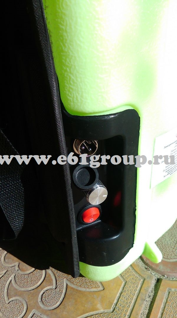 Опрыскиватель электрический ранцевый Комфорт (Умница) ОЭ-12 распродажа