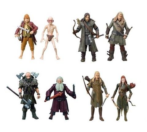 Хоббит набор фигурок в ассортименте герои фильма 9,5 см.